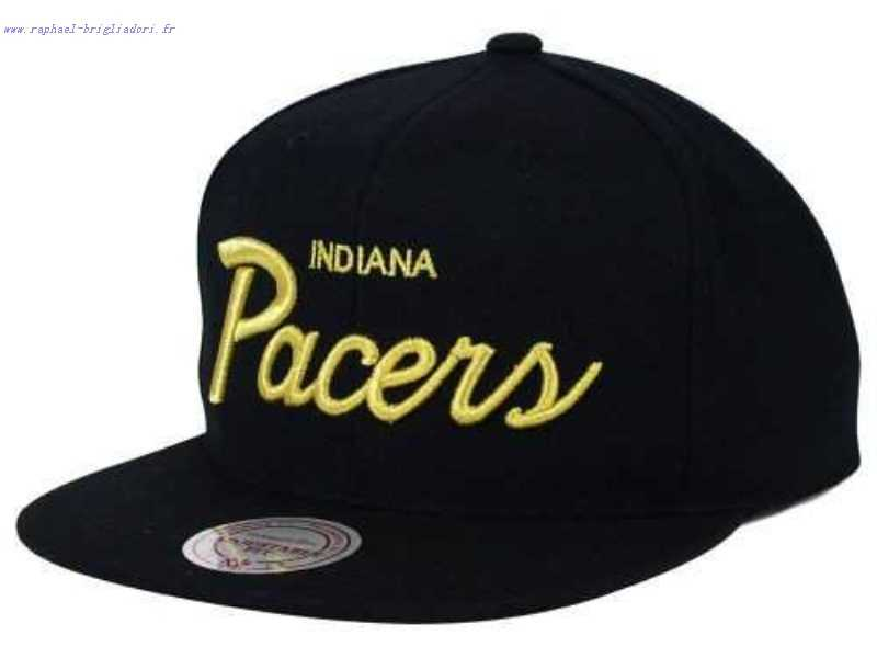 Mitchell Ness Indiana Pacers Mitchell And Ness Nba Strapback Casquette